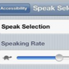 Thumbnail image for How to Make iPhone/iPAD Read the Text Aloud for You?