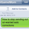Thumbnail image for How to Stop Funny Auto Correct?