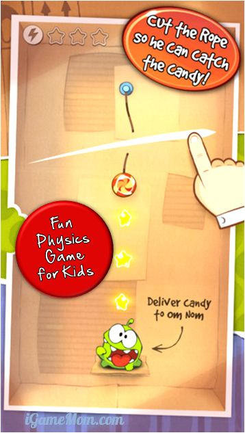 Cut the Rope - fun physics games for kids