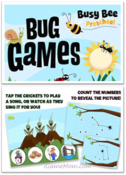 Bug Games - Preschool Learning Games