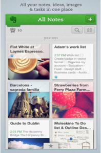 Evernote Keeps Everything at One Place
