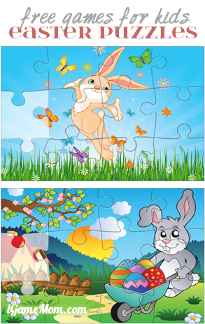 FREE App Easter Puzzle Games For Kids