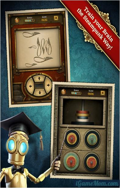 Fun Brain Training Game App Clockwork Brain