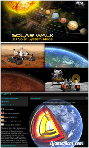 Explore Solar System on iPad