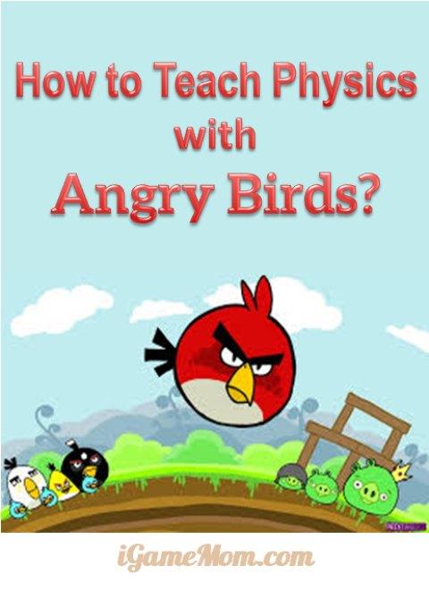 Teach Physics with Angry Birds