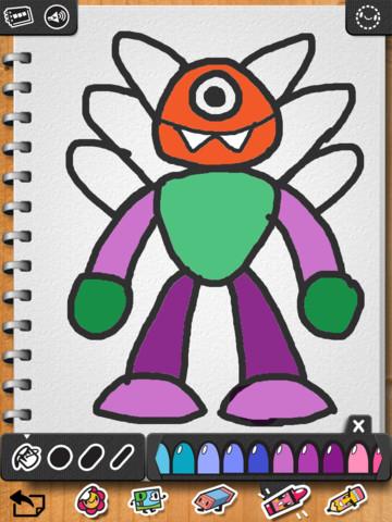 iLuv Drawing Monsters App