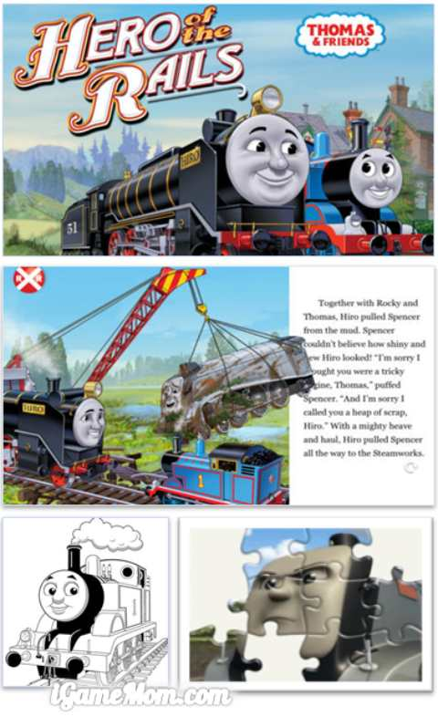 Thomas and Friends Hero of the Rails