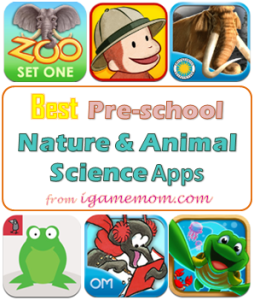 Best Preschool Nature Animal Science App from iGameMom