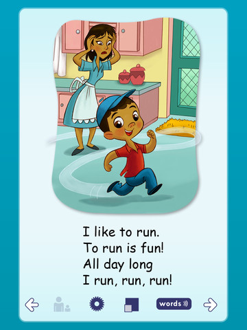 ABCmouse.com Run is Fun Book App