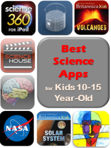 Best science apps for kids 10-15 year old