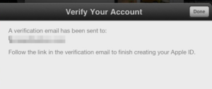 How to Create App Store Account without Credit Card -Step 4