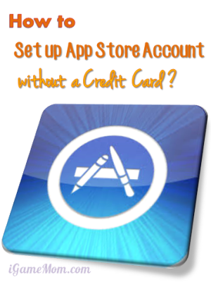 How to set up App Store account without credit card