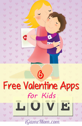 6 Free Valentine Apps for Kids from iGameMom