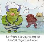 A Yucky Adventure Book App