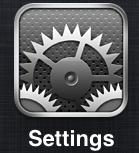 How to lock iPAD or iPhone Screen - Step 1
