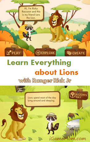 Learn everything about Lion with Ranger Rick Jr