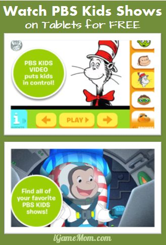 Watch PBS Kids Show for FREE on iPad