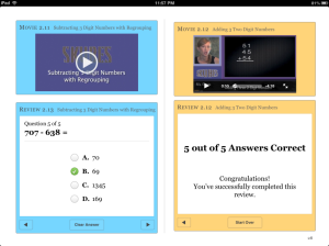2nd Grade Math on Video by Carrie Wetzel & Skubes iBook 1