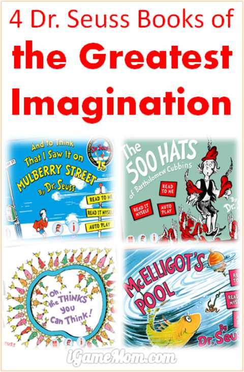 Dr Seuss Books of Greatest Imagination