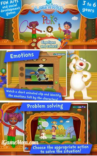 Help kids on social emotional development - iLearn with Poko