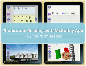 Phonics and Reading with McGuffey App