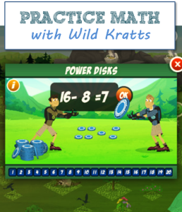 Wild Kratts Creature Math App