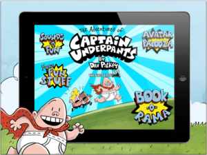 Adventure of Captain Underpants App