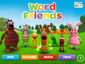 Learn with WordFriends App Review on iGameMom
