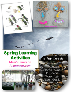Spring Learning Activities Moms Library