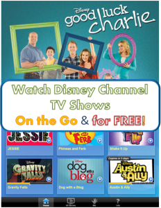 Watch Disney Shows On the Go Free