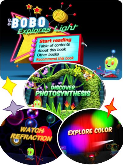 Bobo Explores Light App
