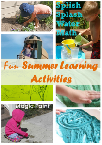 Fun Summer Learning Activities