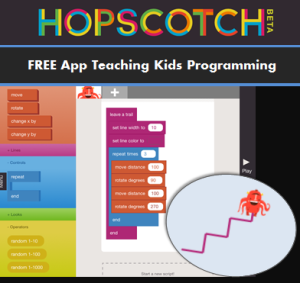 FREE App: Learn Programming with Hopscotch