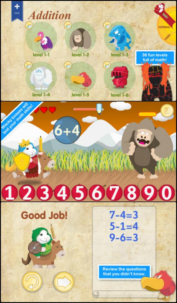 Bugsy in Math Kingdom via iGamemom.com