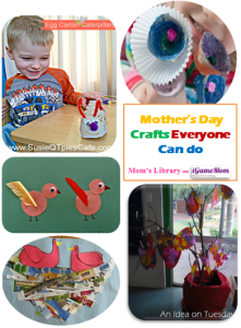 Mother's day crafts everyone can do