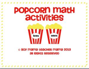Popcorn math - momslibrary