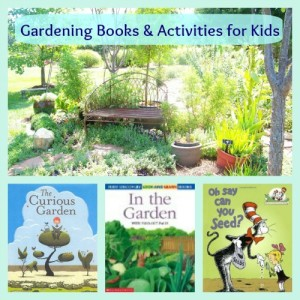 gardening books activities for kids