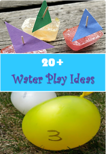20 Water Play Ideas