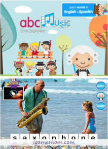 ABC Music App Review on iGameMom