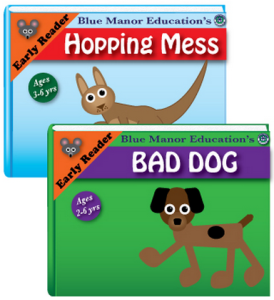 Blue Manor Education Early Reader Books