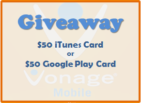 Giveaway sponsored by Vonage