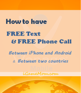 How to text free and call free between iPhone and Android