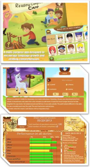 Reading Comprehension Camp App