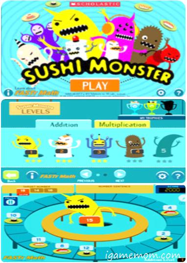 Sushi Monster Free App
