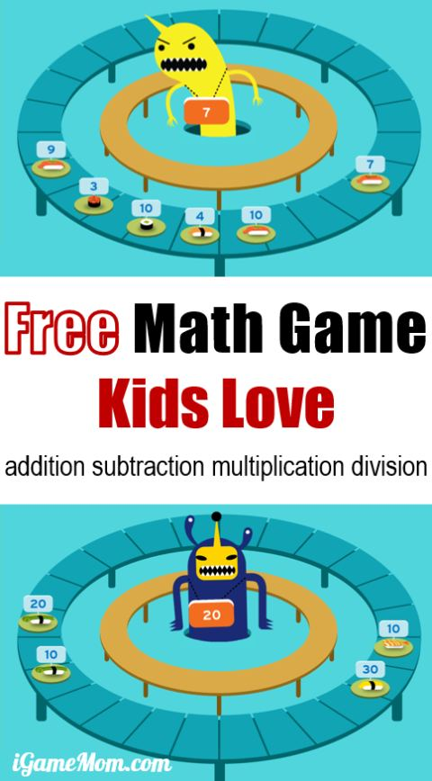Free math game app kids love. Learn addition subtraction multiplication and division to reinforce number sense and understanding. Train kids backward thinking to fully master the math skills. For math center, extra math drill, home practice