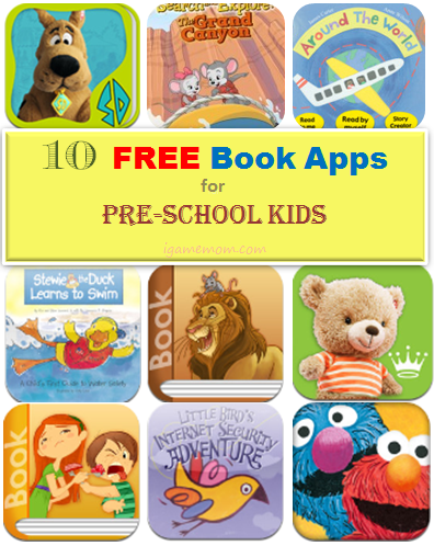 Ten Free Book Apps for Preschool Kids