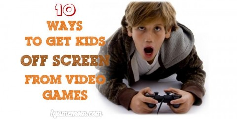 how to get kids off screen from video games without complaining