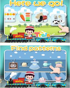 magikid train app - colors shapes puzzles
