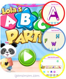 Lola's ABC Party App
