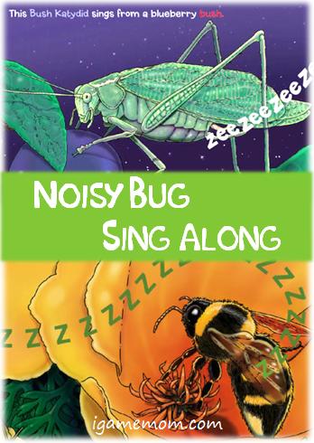 Noisy Bug Sing Along App